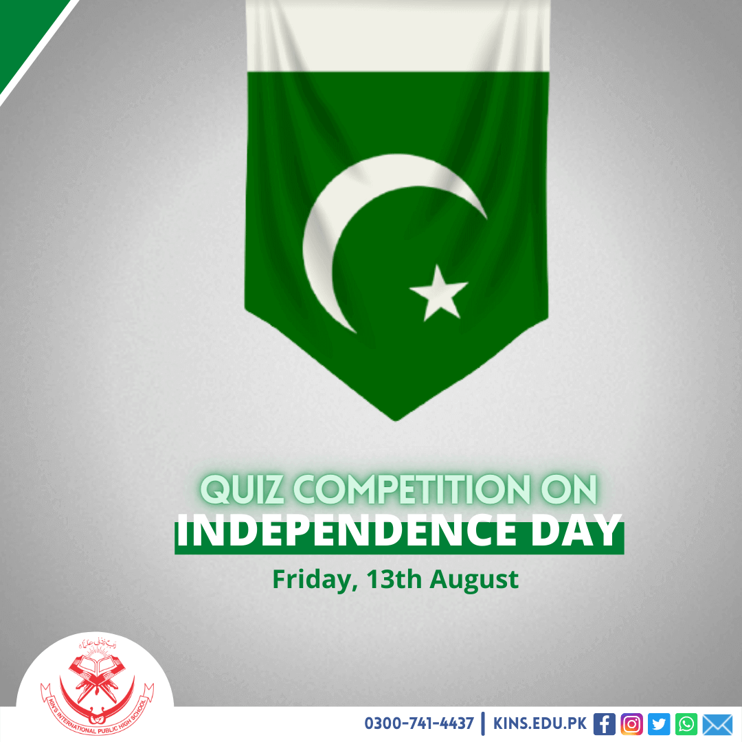 Quiz Competition on Independence Day Pakistan
